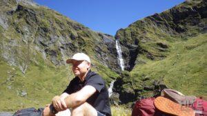 Waterfall Face near Rabbit pass